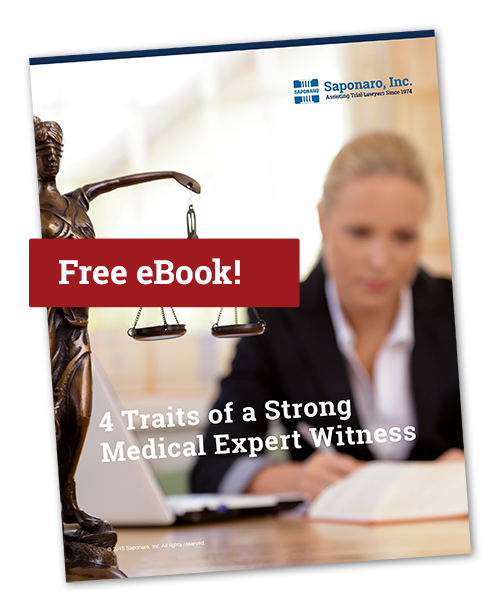 4 Traits of a Strong Medical Expert Witness eBook