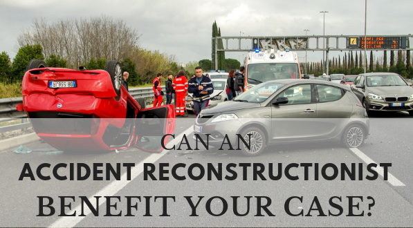 Find out if an accident reconstructionist can help your case.