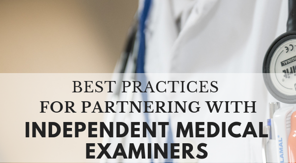 Partnering with independent medical examiners
