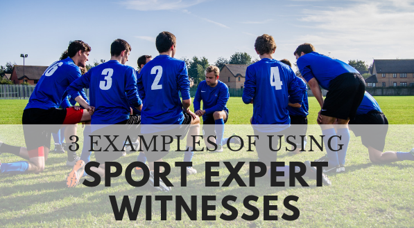 Find sport expert witnesses