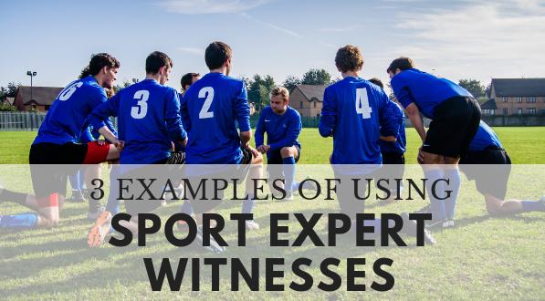 Find sport expert witnesses