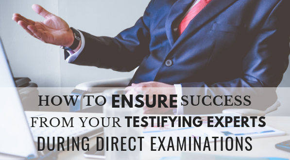 success of testifying experts
