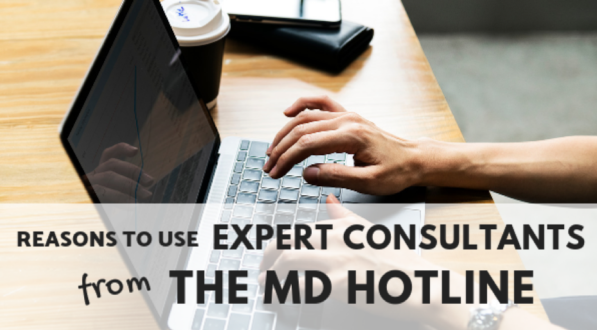 Using expert consultants.