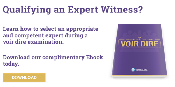 Qualifying an Expert Witness During Voir Dire eBook
